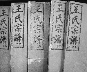 浙江在线永康收藏爱好者藏有一套《王氏宗谱》。